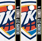 Oklahoma City Thunder Cornhole Skin Wrap NBA Basketball Team Logo Vinyl DR313 on eBay
