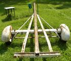 GOOD+SOLID+UNRESTORED+TOWABLE+VINTAGE+TEE+NEE+BOAT+TRAILER+CHASSIS+OB%2D40+DLX+%3F