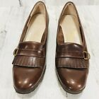 Salvatore Ferragamo Boutique Womens Shoes Flats Loafer Size 6.5 B Italy Leather