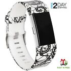 Replacement Srap Bands for Fitbit Charge 2 Only Leopard Print Wrist Bands-Small