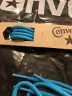 New Authentic Converse High top Oval Shoe Laces Blue 72 Inches see chart