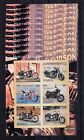 10x Luanda Herley Davidson Motorcycle imperf  Private Local issue [PL14] not MNH