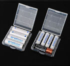 5 x Hard Plastic Case Holder Storage Box Cover for Rechargeable AA AAA Battery
