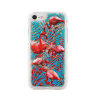 ^ FUN CASE 3D Flamingo Bunt Für Apple iPhone X Case Mirror Spiegel Schutz Hülle