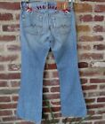 Lucky Brand Tattoo Sweet N Low Womens Jeans Birds Forever Size 0/25 (27x32)
