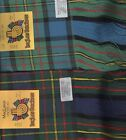 Tartan Sash Clan MacLaren Ladies Scottish Wool Plaid