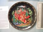 Rusian and Ludmilla Collector Plate  1988  Bradford Exchange  1732G  NEW Russian