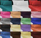 """Non Iron Percale Extra Deep Fitted Sheets 40CM/16"""" Pair of Pillowcase 3 Sizes image"""