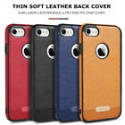 Shockproof PU Leather Soft Case Cover Comfortable feel For iPhoneX 6S 8 7 Plus