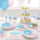 Baby Shower Decorations Gender Reveal Party Tableware Balloons Girl Or Boy