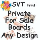 Private For-Sale Boards Full Colour Printed Weatherproof B1 A2 A1 A0 Many Sizes
