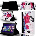 FOLIO LEATHER STAND CASE COVER For Various Dell Venue 7 8 10 Tablet + Stylus