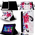 FOLIO LEATHER STAND CASE COVER For Various Toshiba Encore Tablet + Stylus