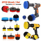 Cleaning Drill Brush Wall Tile Grout Power Scrubber Bathtub Floor Cleaner Combo