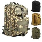 40L Military Tactical Backpack Waterproof Rucksack Outdoor Camping Hiking Bag