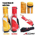 A99 Golf Travel Mate IV CarryOn Travel Cover Hard Case With TSA Lock + Skin