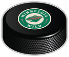 Minnesota Wild Round NHL Logo Hockey Puck Car Bumper Sticker  -3'',5'' or 6'' $3.5 USD on eBay