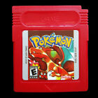 Pokemon GBA GBC Game Boy Advance Color Cartridges Crystal Gold FireRed Emerald
