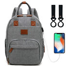 Внешний вид - LEQUEEN Mummy Baby Diaper Nappy Bag Backpack Multifunctional  Large Changing Bag