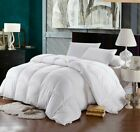 White Goose Down Alternative Comforter Duvet Cover Insert Queen Twin King Size M image