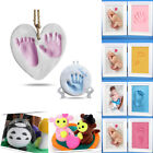 Baby Care Air Drying Clay Handprint Footprint Imprint Kit Casting Malleable DIY image
