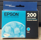 Genuine Epson 200 Cyan Yellow DuraBrite Ink Cartridges ~ Free Shipping