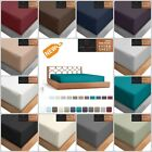 Fitted Sheet Luxurious Extra Deep Pocket Soft With Tight Smart Corner Straps  image