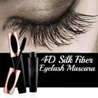 4D Silk Fiber Eyelash Mascara Extension Makeup Black Waterproof Kit Eye Lashes.