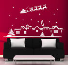 Christmas Wall Stickers Xmas Decoration Christmas Santa Window Stickers N103