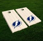 Tampa Bay Lightning Cornhole Decal Vinyl NHL Hockey Car Wall Set of 2 GL105 $19.95 USD on eBay