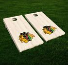 Chicago Blackhawks Cornhole Decal Vinyl NHL Hockey Car Wall Set of 2 GL107 $34.95 USD on eBay
