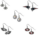 NFL Dangle Earrings - Pick Your Team-USA SELLER- FREE SHIPPING IN USA $6.45 USD on eBay