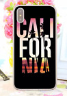 California Coconut Sunset Postcard Poster Hard Cover Case For iPhone Huawei 8