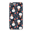 Snow Snowman Cartoon Ball Christmas Hard Cover Case For iPhone Galaxy Huawei New