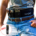 Belly Band Gun Holster | RFID Secure Waterproof Zipper Pocket | Spare Mag Pouch