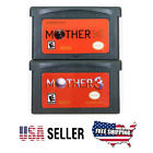 Earthbound Mother 1+2 & 3 Metroid Fusion Zero Mission GBA Cartridge US Version