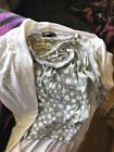 CUTE!ladies s cato halter with ligh sleveless small over shirt/light jacket Nwot