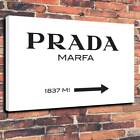 Gossip Girl Prada Marfa Printed Canvas Picture Multiple Sizes 30mm Deep Frame