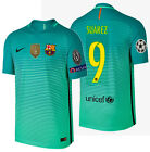 NIKE LUIS SUAREZ FC BARCELONA AUTHENTIC VAPOR MATCH UCL THIRD JERSEY 2016/17