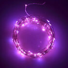 23/39ft Solar LED Rope String strip fairy Lights Waterproof Outdoor Garden decor