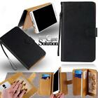 For Various Prestigio Multiphone-Leather Wallet Card Stand Flip Case Cover + Pen