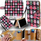 For Various ZTE Smartphones - Leather Wallet Card Stand Flip Case Cover