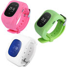 Monitor Children GPS Tracking Device Q50 Smart Watch Safety Tracker Kid MC