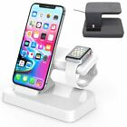 2in1 Charging Stand Caricabatterie e Dock Supporto Per Apple Watch iWatch iPhone