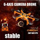 2.4G 4CH 6-Axis Gyro Helicotper RC Quadcopter with HD WIFI Camera Drone FPV