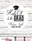 Hats Off To The Grad -  2018 Graduation Personalized Party F