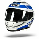 Shoei GT Air GT Air Swayer TC 2 White Blue Full Face Motorcycle Helmet