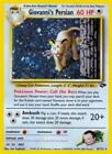 Pokemon Giovanni's Persian - 8/132 - Holo Rare - Unlimited Edition Lightly Playe