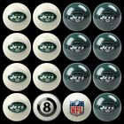 NFL Billiard Ball Set - The Ultimate New York Jets Fan Pool Table Ball Set $381.4 USD on eBay