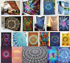 Best Saller Galaxy Wall Tapestry Hippie Mandala Bedroom Decor Twin New Bedspread